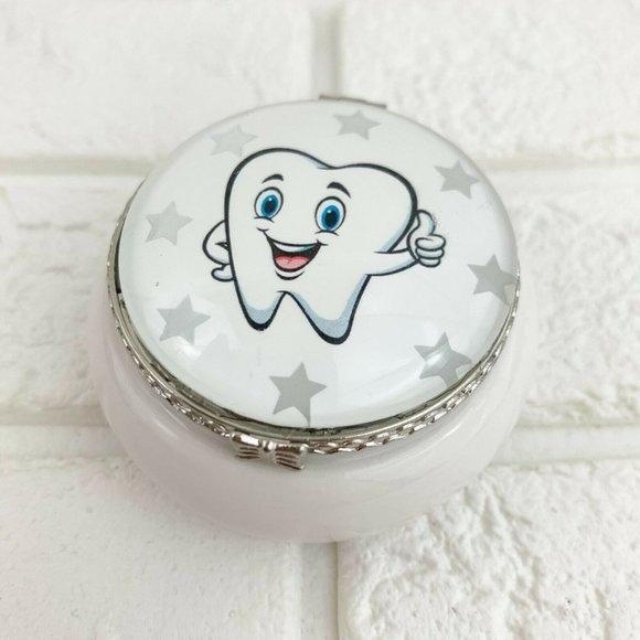 Kids Tooth Fairy Treasure Jewelry Keepsake Box